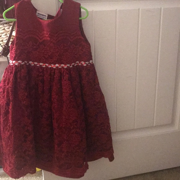 a nice childrens christmas dress
